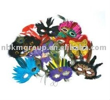 2012 New feather mask