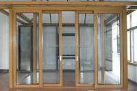 Sliding Glass door & window made by good quanity tempered glass and aluminum frame