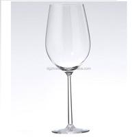 wholesale goblet beach glass /tritan plastic wine glass