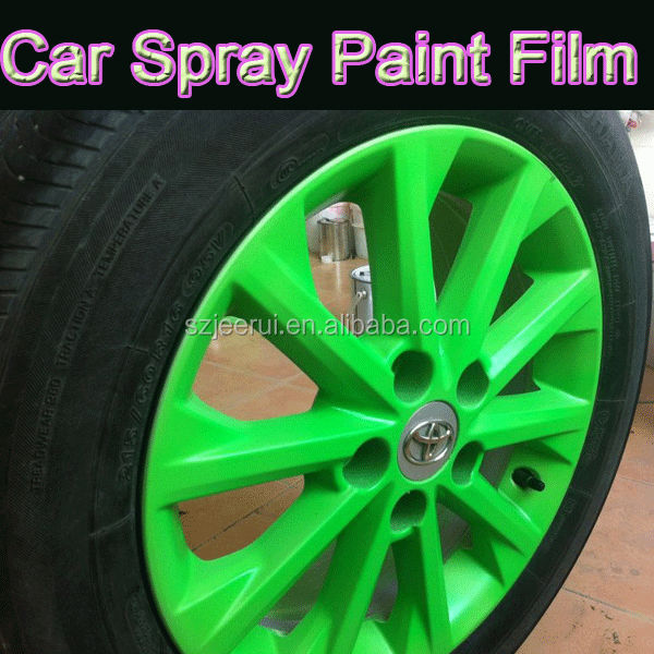 fluorescent temporary car auto window wheel rim wall fabric rubber paint uv waterproof washable. Black Bedroom Furniture Sets. Home Design Ideas
