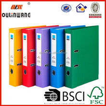 customized pp pvc a4 2inch lever arch file