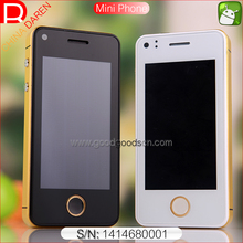 Phonebaby 2.5 inch mini low price smart phone with android 4.4 system Dual camera for European market