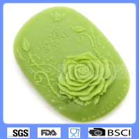 Soap mold,Silicone flower soap mold
