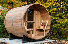 2015 hot sale outdoor barrel sauna room for home use