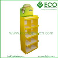 ECO Hot Sale Corrugated Paper Honey Display Stand