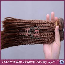 Light brown kanekalon synthetic hair, ombre marley micro braid synthetic track hair braid