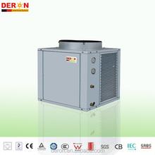 EVI Air to water heat pump R407c guangzhou deron solar air conditioner hot water three in one Air to water heat pump