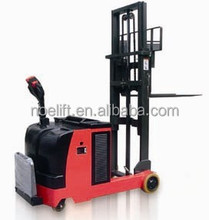 single-deck pallet & double-deck pallet available 1ton load electric pallet stacker