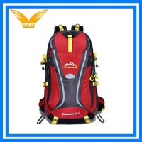 High quality unisex outdoor backpack with reflective strips
