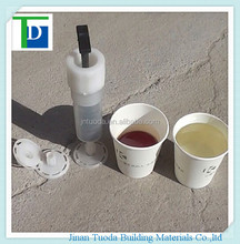 Low viscosity two-component epoxy potting epoxy pouring sealant for concrete honeycomb