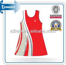 Subnt- 566 roja para mujer vestido de tenis de netball 2013 faldas