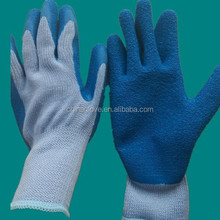 natural rubber palm dipped gloves safety working gloves