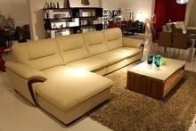 2015 chinese furniture import italian furniture leather sofa set design corner sofa model J868