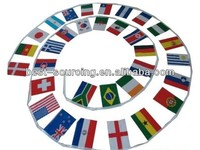 The nations decorate Durable rainbow flag