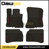 car accessories rubber car floor mat 4 pieces for old model mercedes
