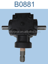 Cast iron gearbox housing mechanical parts,agricultural gearbox factory prices