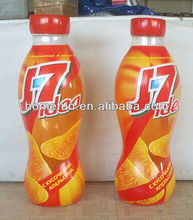 inflatable drinking orange juice bottle and galss - cheap and durable advertising