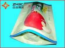 High quality plastic zipper stand up pouch