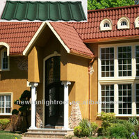 1335mm*420mm decorative metal roof tiles /building materials for house steel roofing shingles/ good metal roofing materials