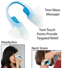 2014 New Design Multi Functional Mini Massager/Vibrating Twin Touch point massager