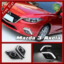 Mazda 3 Axela Auto Accessories Axela Fog light LED lamp Axela LED DRL Daytime Running light Headlight