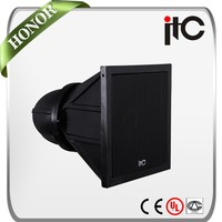 """ITC T-2600 100W 8"""" and 1.3"""" 2.0 PA IPx6 Waterproof Outdoor Loudspeaker Horn"""