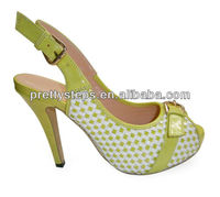 Pretty Steps 2013 Women Shoes Summer High Heel Shoes Fish Mouth Shoes