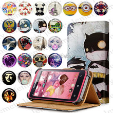 """With Multiple Pattern Original Jemeiy 4.5"""" Universal Wallet Book Magnetic Flip Stand PU Leather case For Lenovo S720 Phone Bags"""