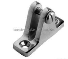 Marine Hardware Deck Hinge 90 Degree AISI316 butt hinge gemel Coupling hinge Angle Base with spring pin