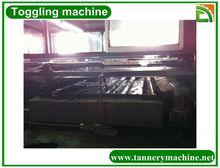 curtume de couro de petróleo alternando máquina para a pele de avestruz