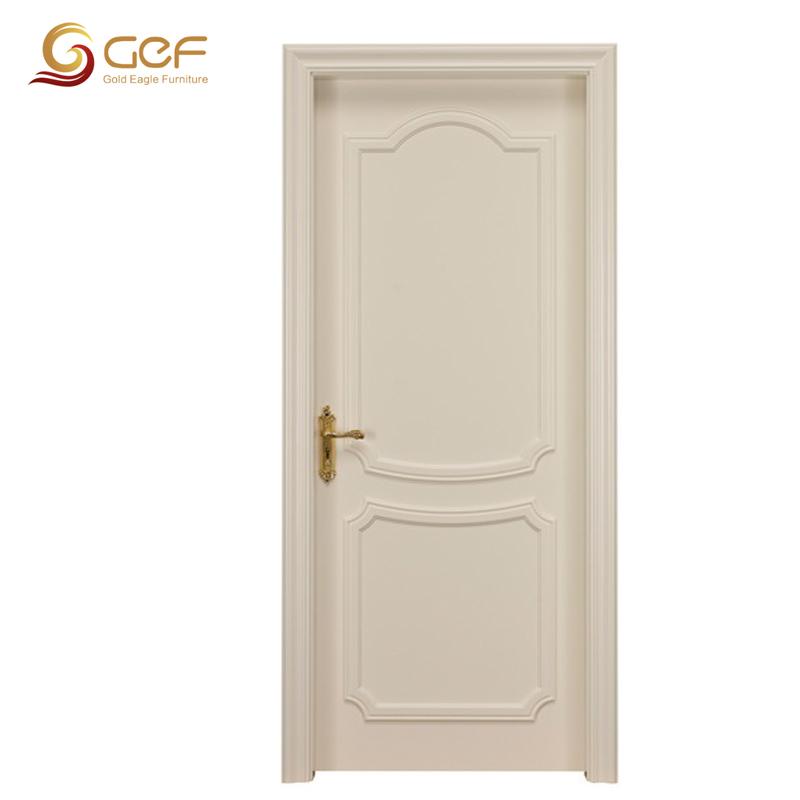 solid wood modern bedroom door design