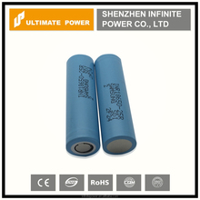 Durable authentic battery samsung 25r 2500mah 20A for factory price