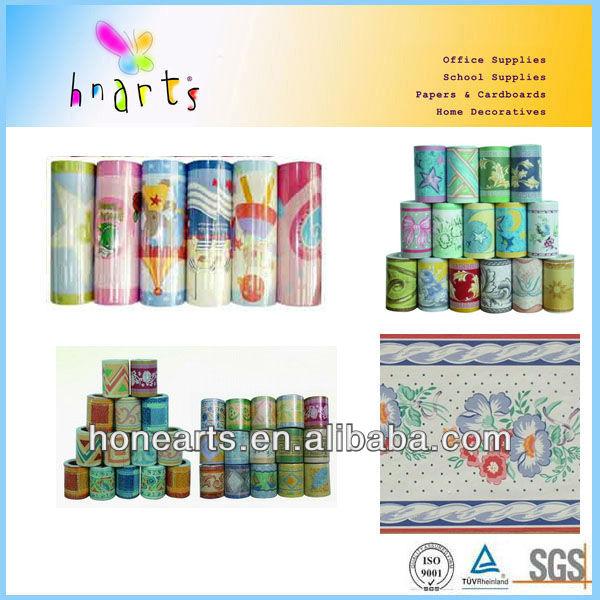 Bordi decorativi per pareti pvc parete frontiere muro di for Adesivi decorativi per pareti