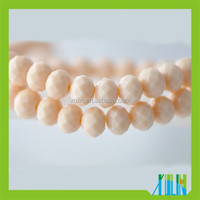 Free to Ship Samples Rondelle Glass Faceted Crystal Beads in Bulk