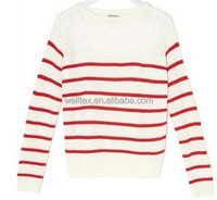 Women's pullover with lace
