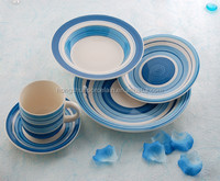 20pcs stoneware dinner set with handpainted