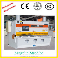 Aluminum metal sheet qualified electric shear,CNC metal guillotine cutter