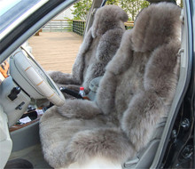 China wholesale sheepskin fur car seat cover/seat cover car