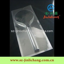 Tri-Folds Clear Blister packaging for Racket/Sport Equipment