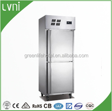 good quality factory stainless steel small portable fridge,vertical deep freezer