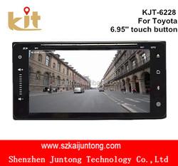 Multi-function car dvd built-in gps /bluetooth/ am/fm radio/tv in dash windows ce 6.0