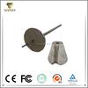 High density aluminum base slag dart for improve molten steel