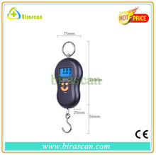 Digital LCD Electronic Portable Luggage Weight Scale With Strap Silver multi-color for choice