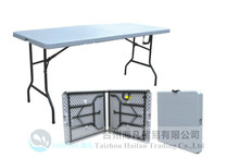 rectangular shaped 6ft banquet table/portable foldable modern design outdoor strong plastic table/collapsible resturant table