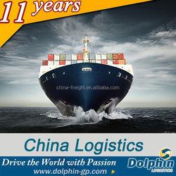 sea freight rates from China to KOLKATA,India------Dolphin