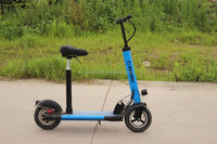 2 wheels 100mm pu big wheel pro swing scooter with ce mark