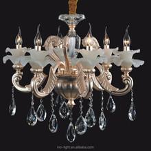 High-end elegant modern led crystal chandelier/pendant