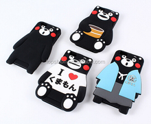 Japanese Design Kumamon Pattern for IPhone 6 4.7 inch'' 3D Cute Silicone Case