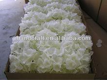 Blanco hortensias flor decoración de la boda para el mercado de Arabia Saudita Dubai
