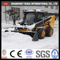 800kg 0.8tons TAIKAI skid steer Wheel Loader Hot sale ZL16 with CE certification chinese mini wheel loader